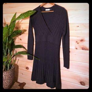 Calvin Klein Gray Sweater Dress M NWOT